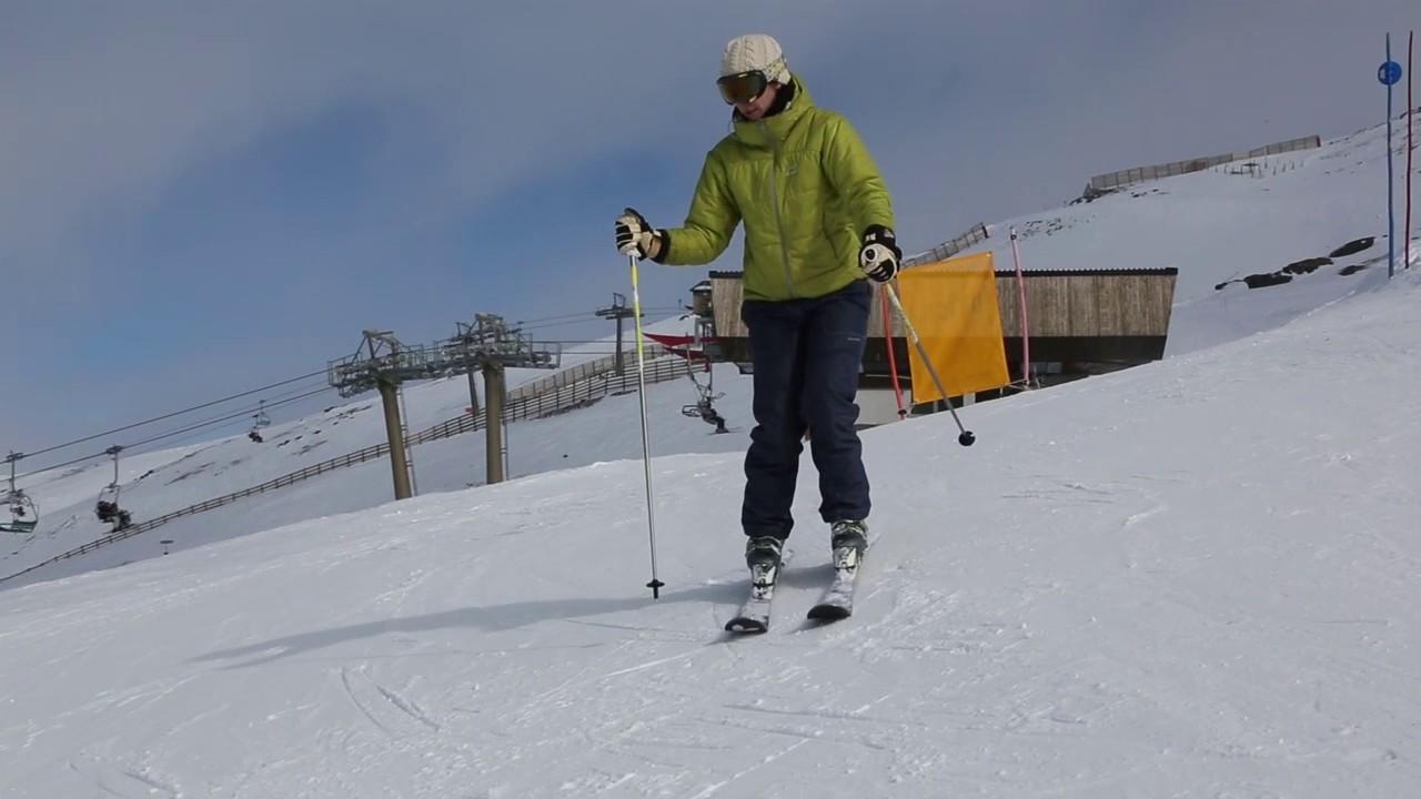 Diccionario visual del esquí