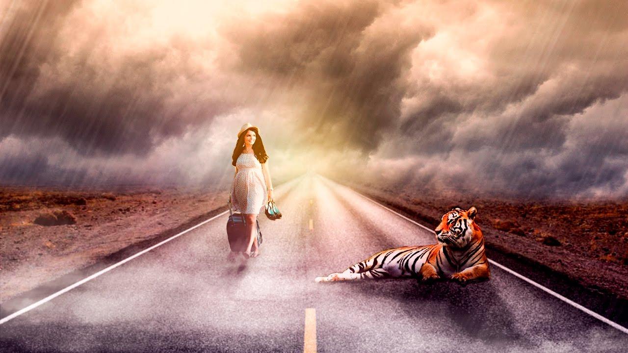 ???? Уроки фотошопа. Манипуляция в Photoshop. | Эффекты в CC 2017