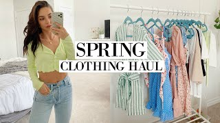 NEW SPRING WARDROBE | Try On Clothing Haul 2020
