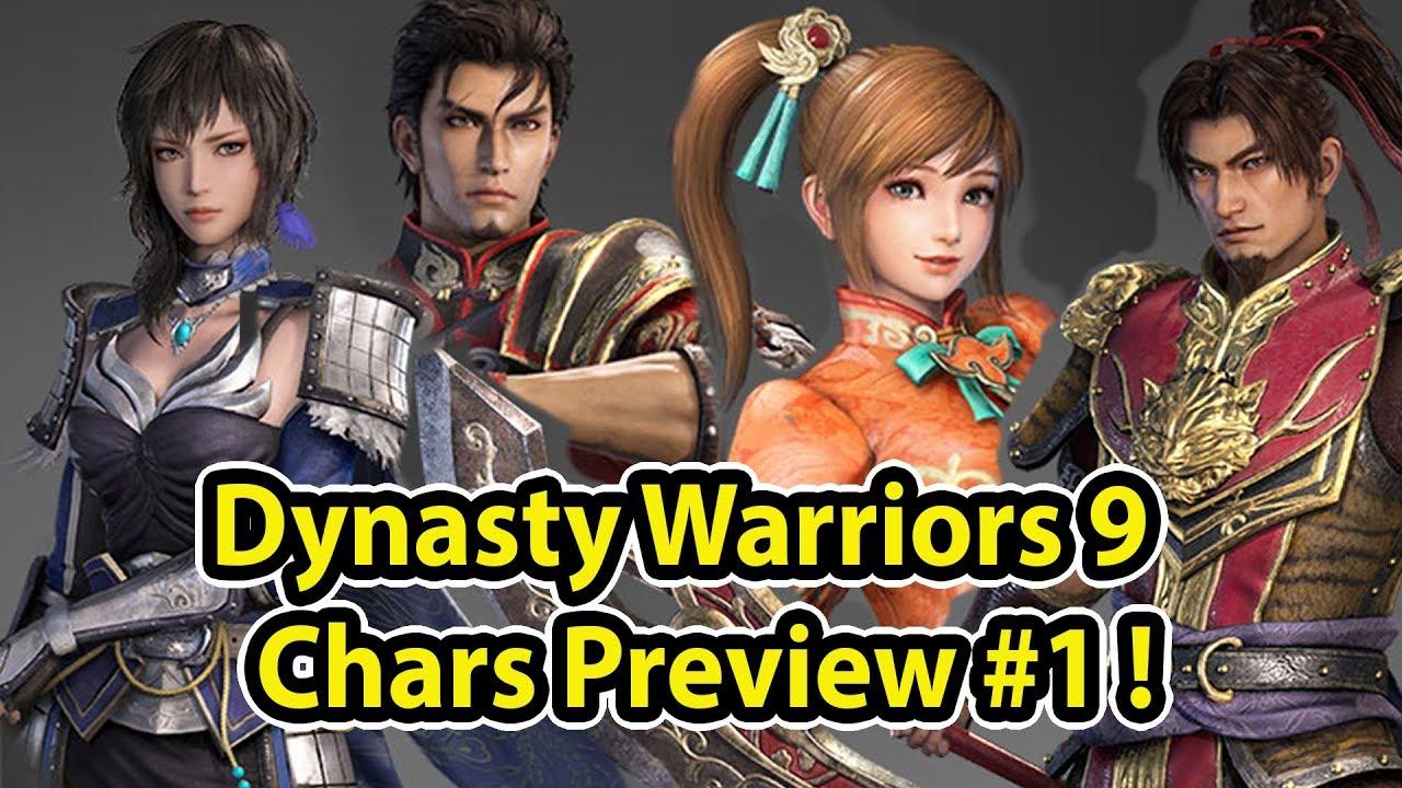 Dynasty Warriors 9 Review Karakter Part 1! –  Wu & Wei! (Dynasty Warriors 9 Indonesia)