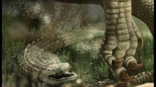 Deinosuchus vs Dunkleosteus