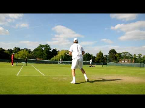 Blaz Kavcic @ Wimbledon - perfect day