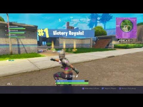 Fortnite Battle Royale Squad Win Number 108
