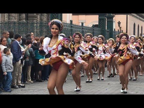 traditional latin carnival, sweet dancing