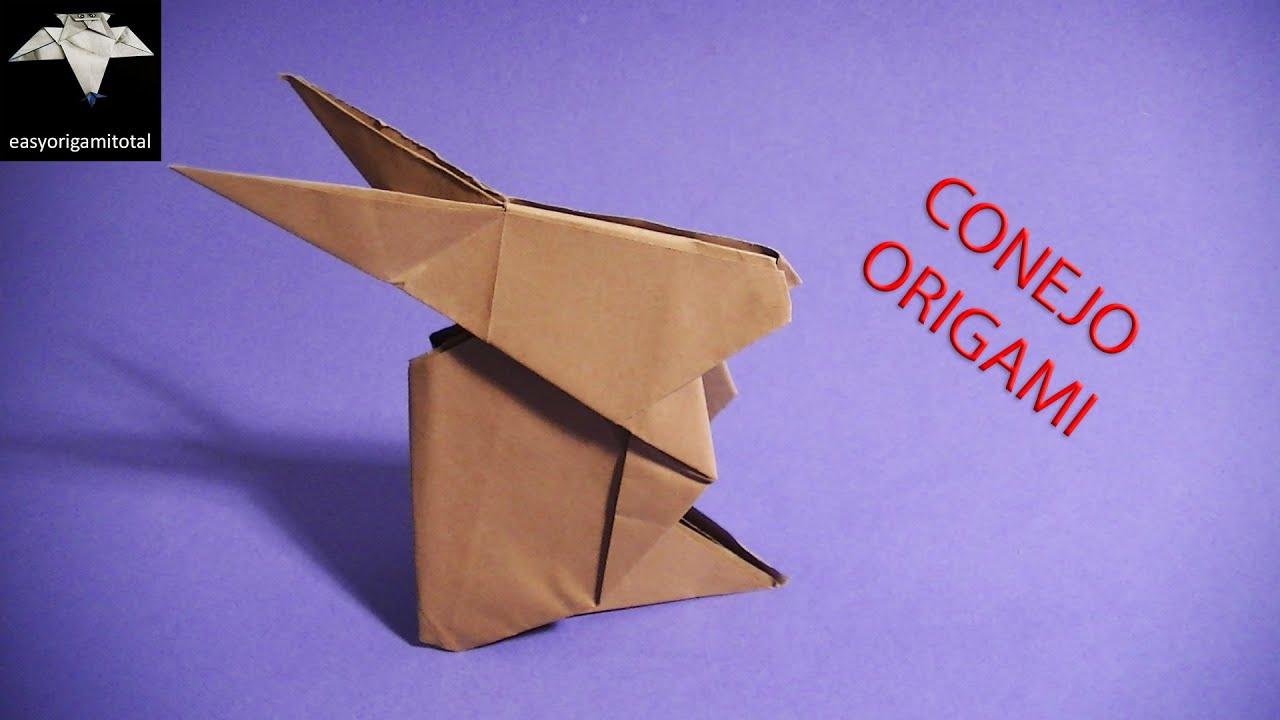 como hacer un conejo en origami paso a paso
