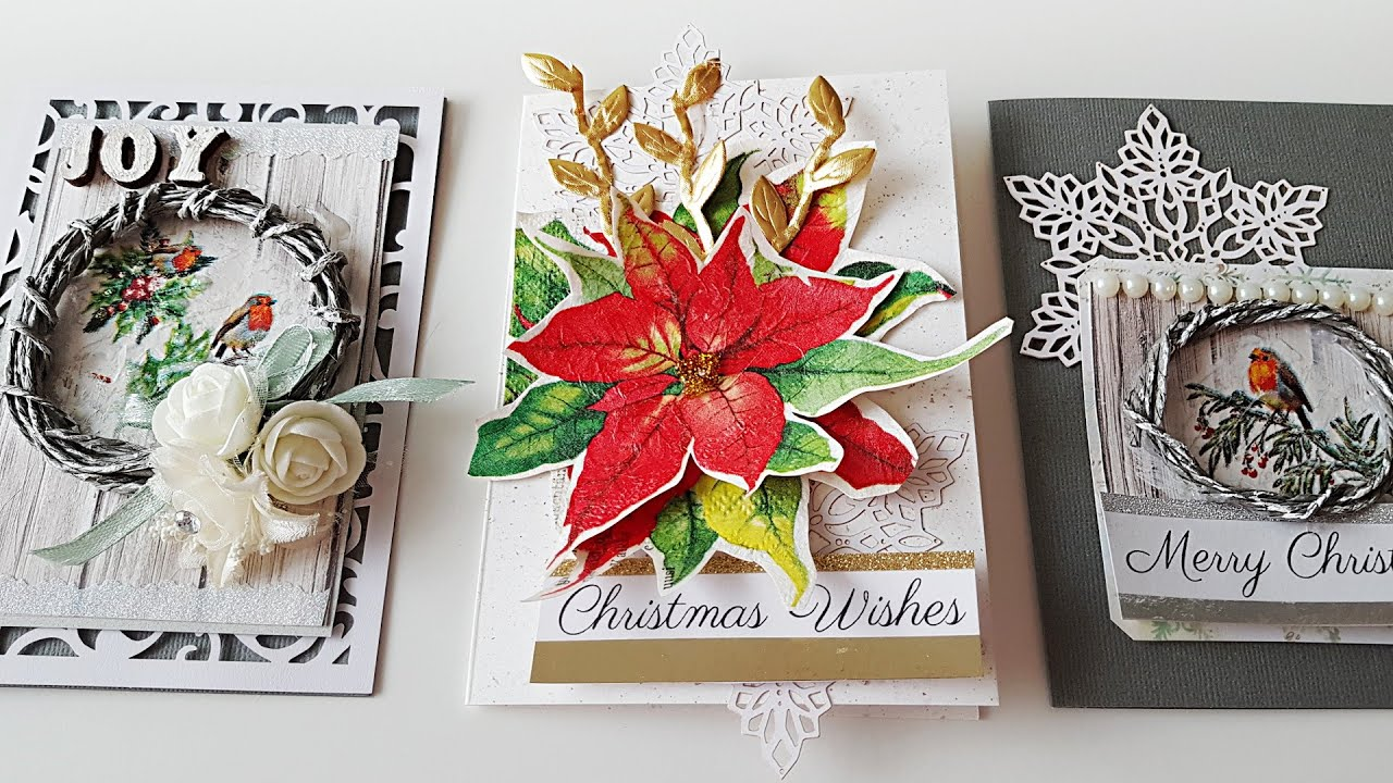 snowflakes paper napkins for decoupage x 4. gifts Christmas tree