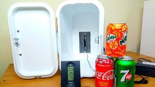 How To Make a Mini Refrigerator For your Desk/Office (Easy and 100% Real)