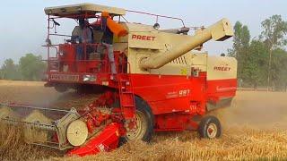 Gehu katne ki machine combine harvester 2019 up