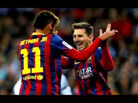 Valeu Amigo   Messi e Neymar