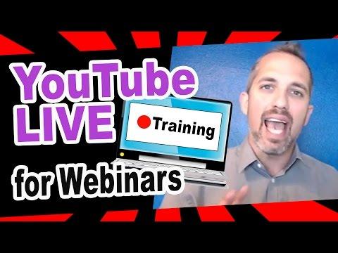 How to use YouTube LIVE for Webinars FULL TUTORIAL (video marketing)
