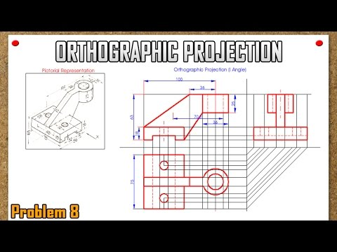 Orthographic Projection_Problem 8