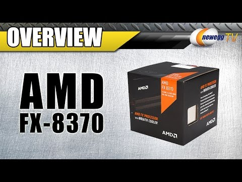 AMD FX-8370 with Wraith Cooler Overview - Newegg TV