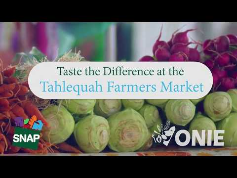 Tahlequah Farmers Market | Taste The Difference | ONIE Project