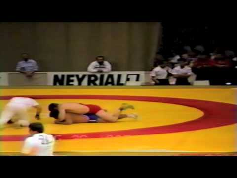 1987 Senior World Championships: 100 kg Hakan Karlsten (SWE) vs. Pakistan