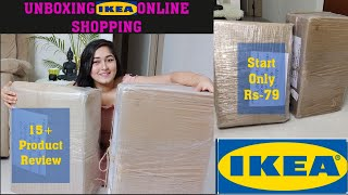 Unboxing IKEA INDIA Online Shopping/IKEA Shopping Haul/ IKEA Best Products Review #ikea #india