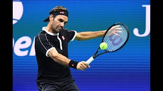 Roger Federer vs. Sumit Nagal | US Open 2019 R1 Highlights