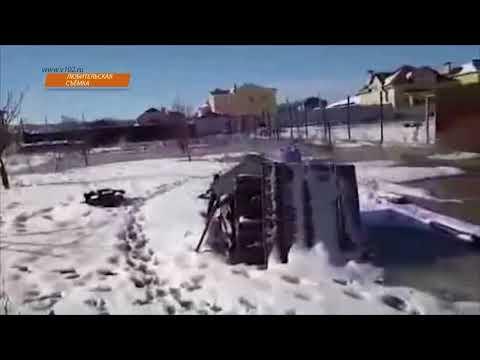 В поселке Волгоградской области тонут дома