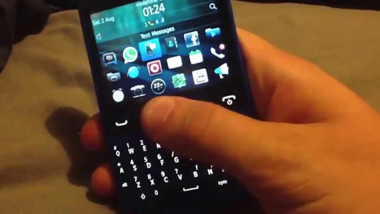 Bypass Blackberry password lock - Joshua driscoll