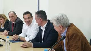 Συνάντηση Τσίπρα με συνδικαλιστές ΔΕΗ