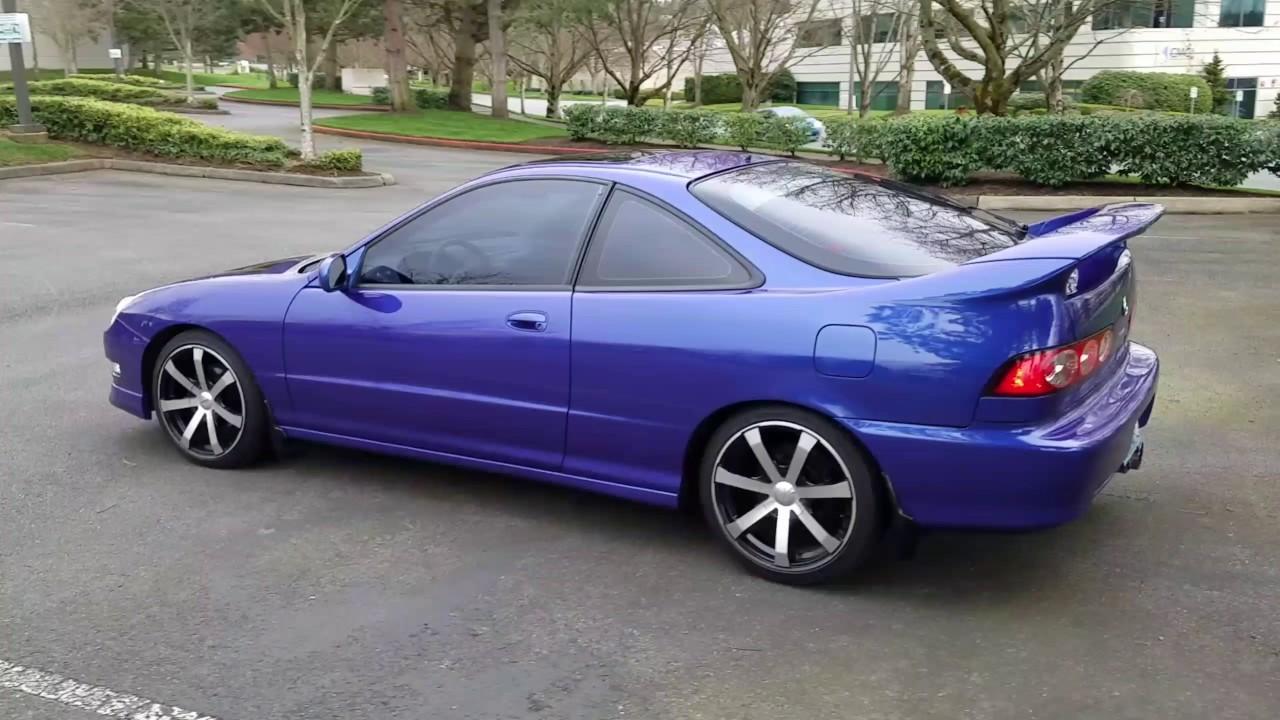 2000 Acura Integra With Toyota Gt86 Headlight Conversion