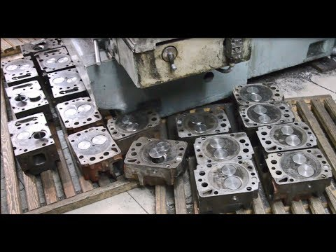 Repair Cylinder Heads (truck)Ukraine