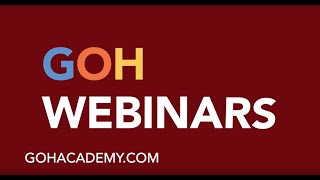 GOHWEBINARS ~ TEACHER ONLINE WORKSHOPS & WEBINARS ~ GOHACADEMY.COM