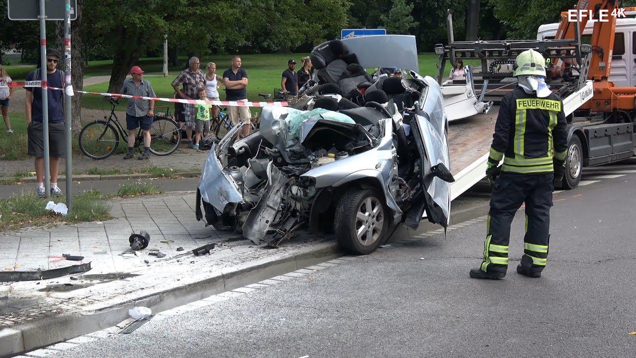 Ein Toter bei Verkehrsunfall Leipzig-Anger-Crottendorf [06.08.2017 ...