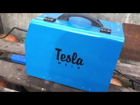 Небольшой обзор сварочного полуавтомата Tesla Weld Mig/mag/mma 300 сварка без Углекислоты