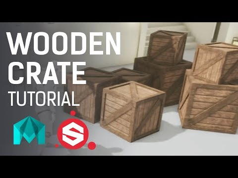 Wooden Crate ~ 3D Game Asset Tutorial