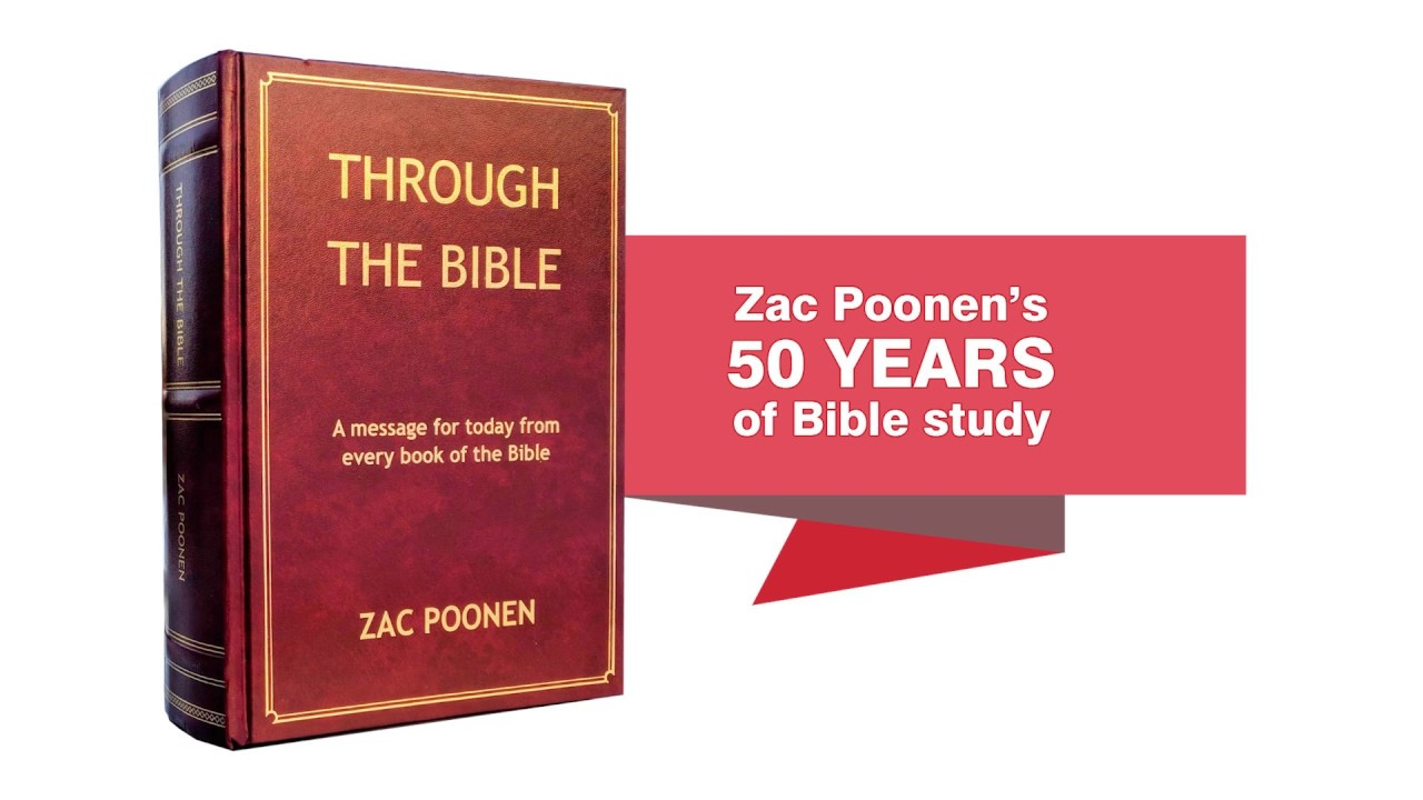 Zac Poonen – A Message From Every Book of The Bible