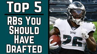 top-5-running-backs-you-should-have-drafted-2019-fantasy-football