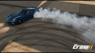 The Crew 2 First Drift Events in the Corvette Stingray