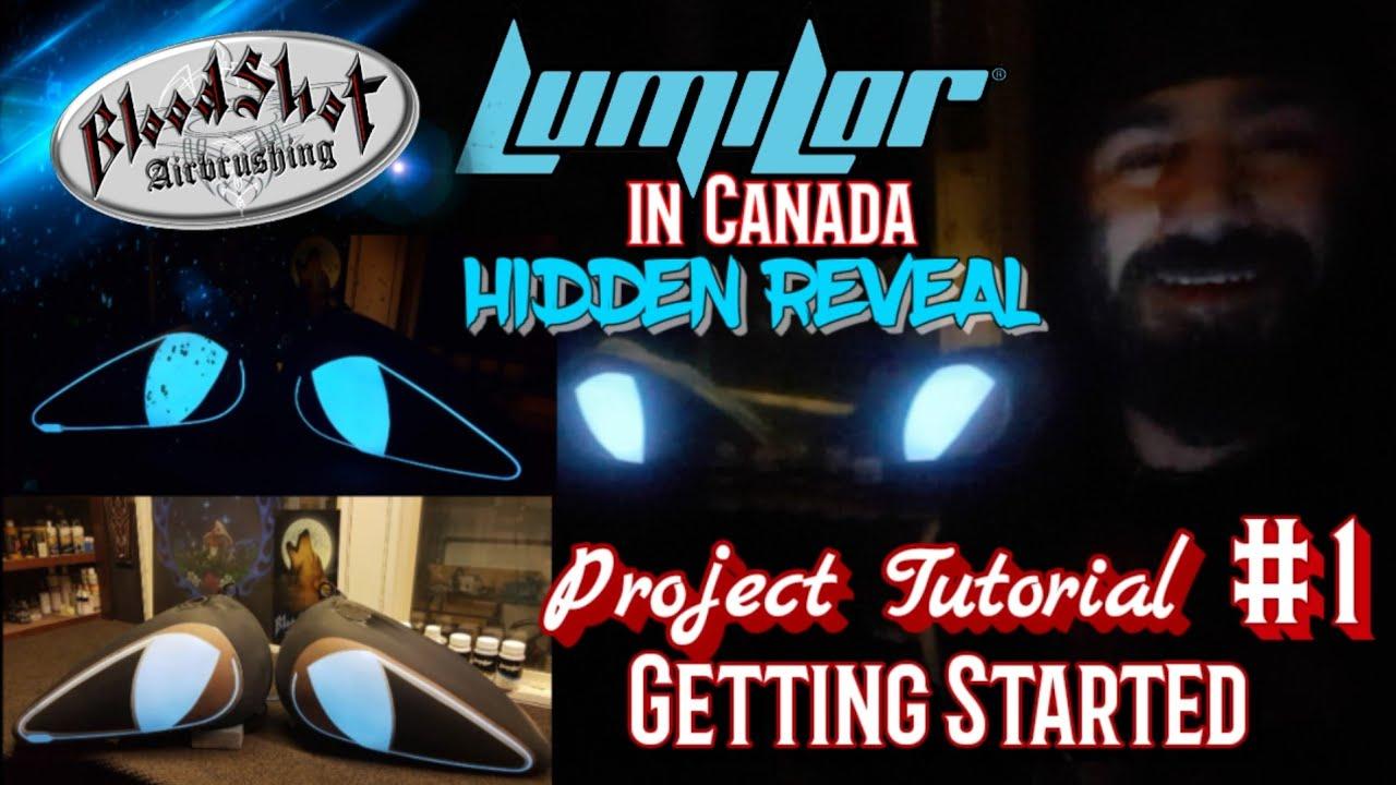 How to Paint a LumiLor Hidden Reveal, Project Tutorial. Video #1