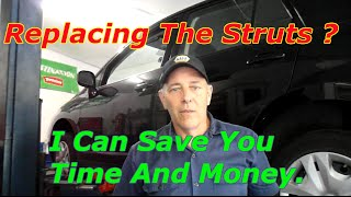 How To Replace The Strut And Bearing Plate 2011 Nissan Versa
