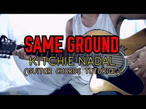 Same Ground Kitchie Nadal Easy Guitar Tutorial Youtube
