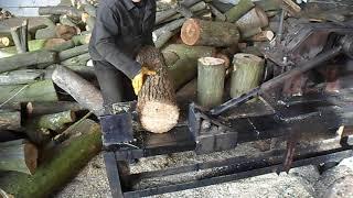дровокол на два рабочих стола. лесоруб
