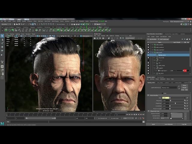Maya 3D Tutorial > Percloud net