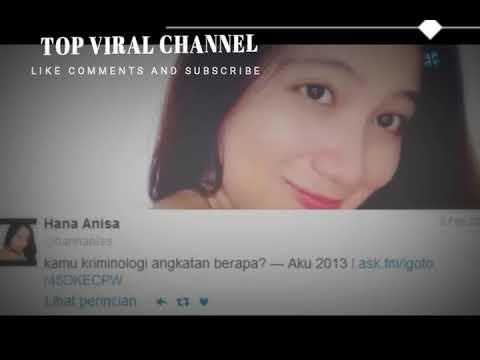 Curhatan Hanna Anissa Di Twit Sebelum Videonya Tersebar Beserta Link Download Video Hanna Anisa Asli