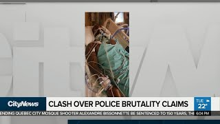 Clash over police brutality claims
