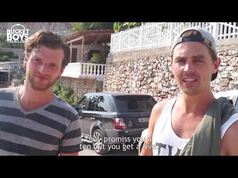 "Free Beach Clubbing Albania ""We are from Dutch TV"" | Bucket Boys"