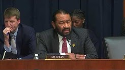 Rep. Al Green Questions Witnesses About Bank Discrimination