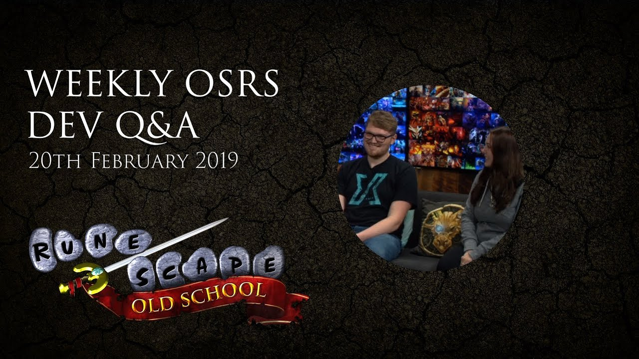 OSRS Q&A - Meet Mod Acorn, and your questions answered!