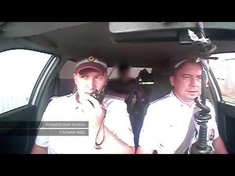 Задержание автоугонщика из Инсарского района