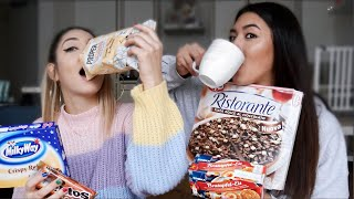DEUTSCHE Candy Challenge mit Eda! | Shanti Tan