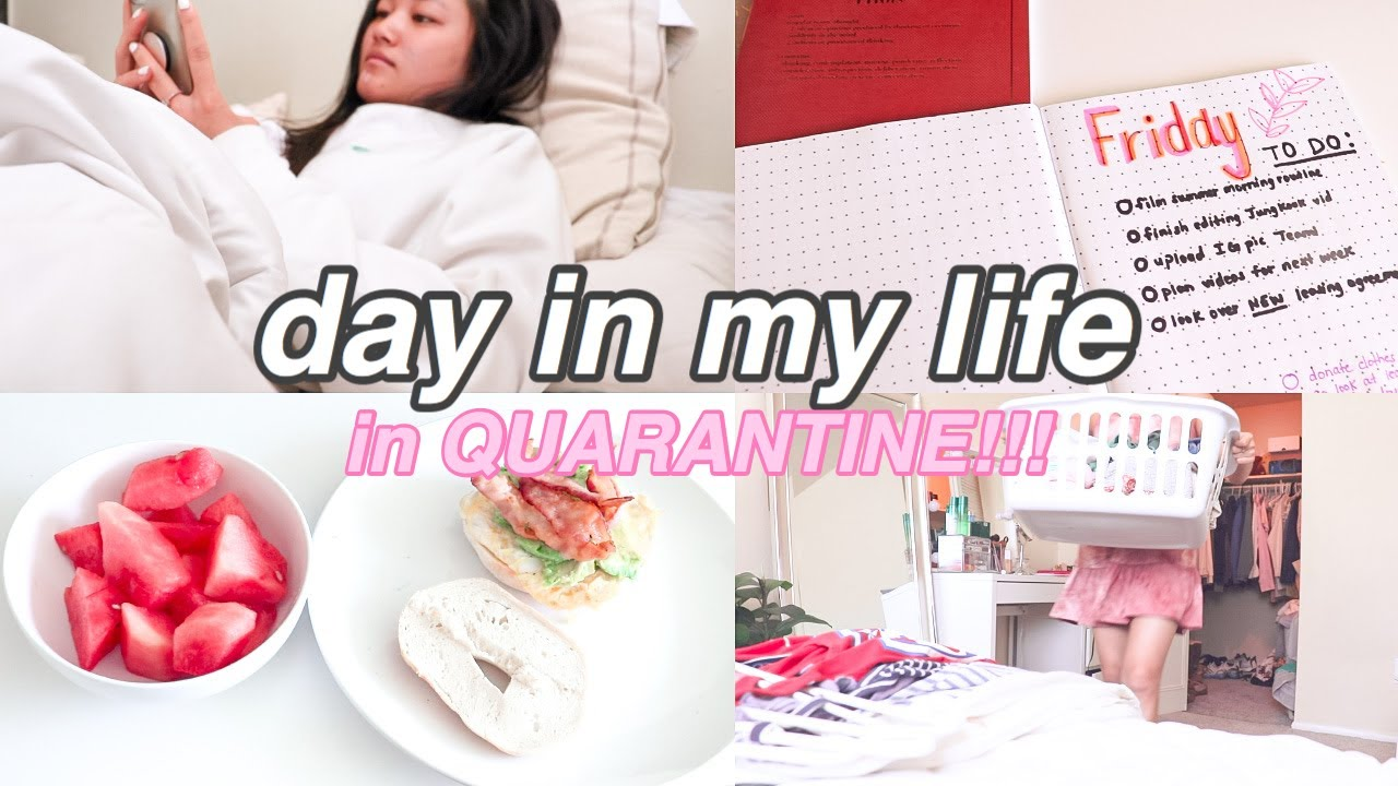 day in my life in QUARANTINE: cleaning out my closet, Friday to-do list, storytime, & I'M MOVING!