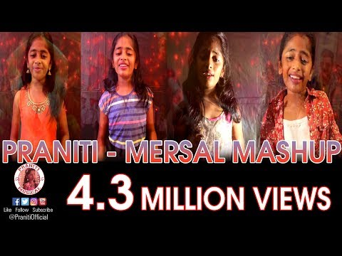#Praniti | #Mersal Mashup | #Vijay | #ARRahman | #Atlee |  25 Years of Vijay and ARR