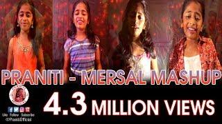 #Praniti Mersal Cover Songs | Mashup | #Vijay | #ARRahman | 25 Years of ARR and Vijay
