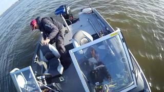 турнир Золотой судак видео 2го экипажа джиг на волге осенью 2019