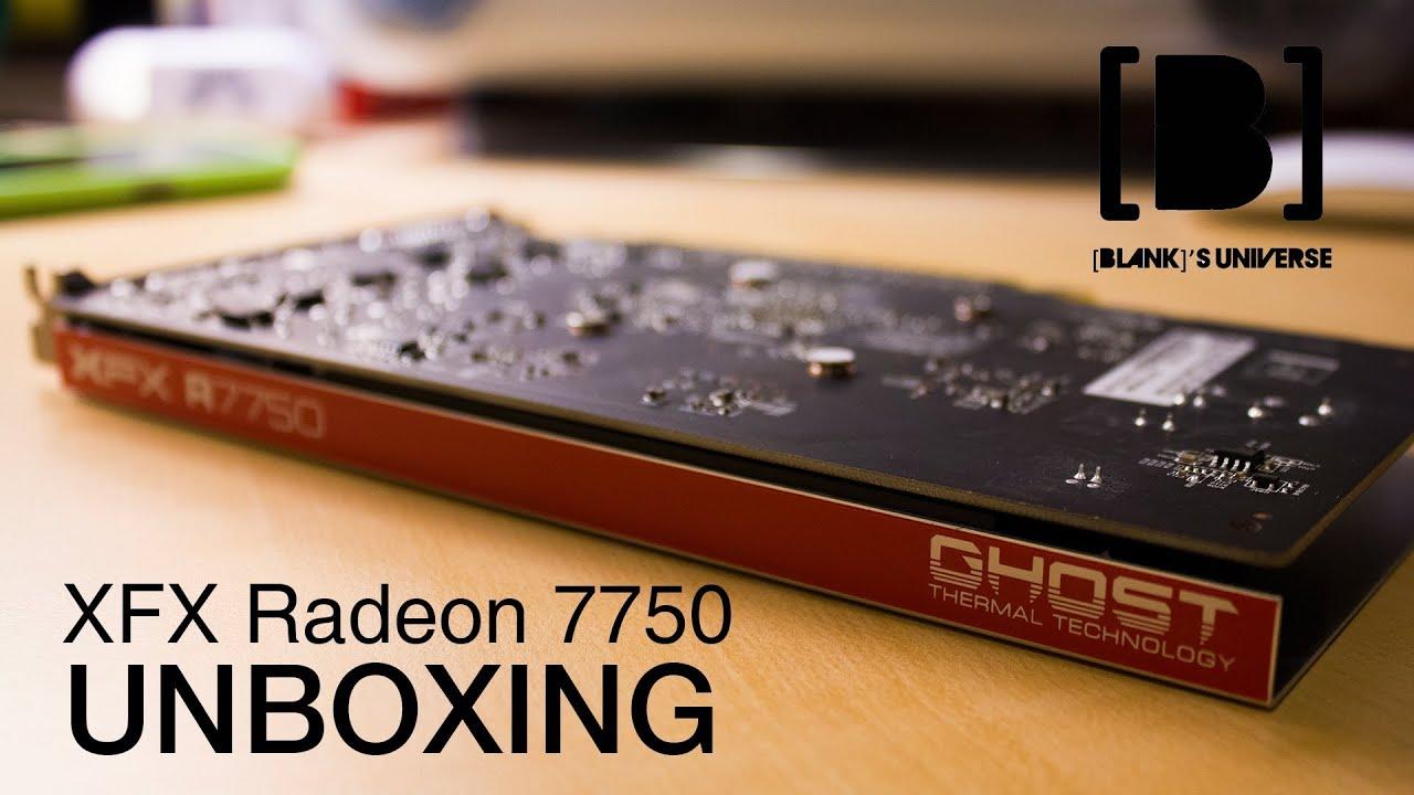Pubg Radeon Hd 7750: XFX Radeon 7750 Unboxing