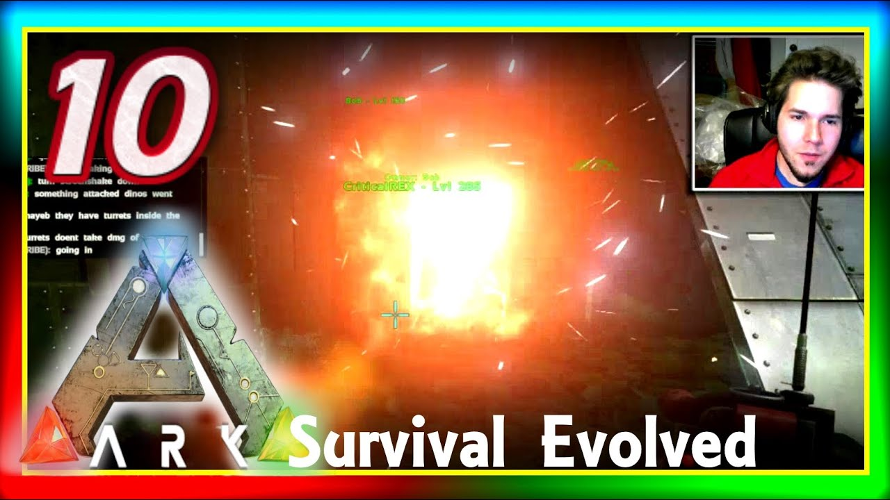 "ARK: Survival Evolved PVP #10: ""Little Raid, BIG GAINS ..."